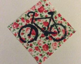 Bike stencil patch