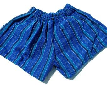 Blue Turquoise Short Shorts