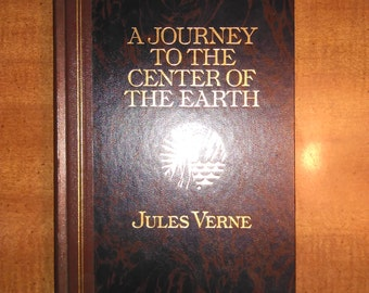 1992 Jules Verne A Journey to the Center of the Earth Vintage Book