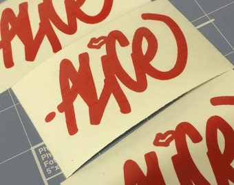 Custom Graffname Sticker - 3 Pack