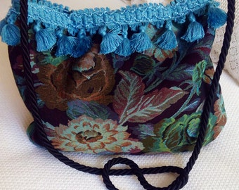 Bag shoulder bag tapestry