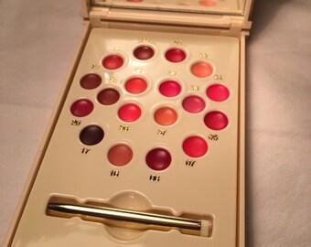 Vintage Beaute Rochas Paris miniature lip gloss set