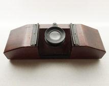 Antique Bausch & Lomb Optical Magnifier - Speciman or Slide Viewer