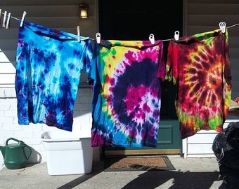 EE Collect of Tie Dye T-Shirts