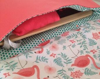 Flemish pouch pink