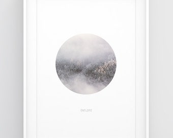 Trees poster — Printable wall art, Trees print, Nature poster, Forest wall art, Woodland decor, Photography wall art, Home decor wall art