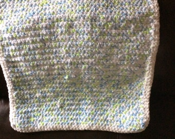 Small bulky baby blanket