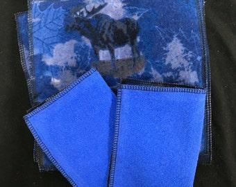 10 Elk cloth wipes