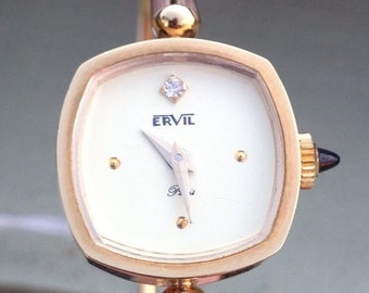 Lady vintage watch ERVIL 60s