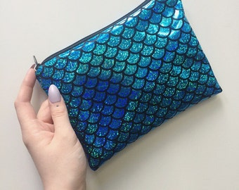 Mermaid Elaganza - Medium Pouch
