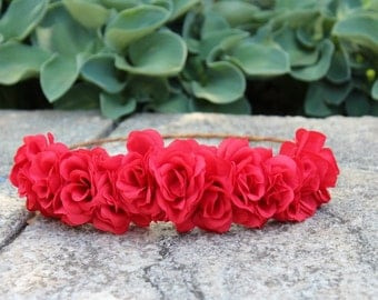 The Rose Flower Crown