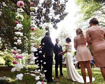Wedding Garland Backdrop