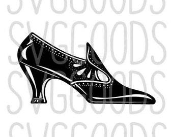 Shoe SVG, High Heels SVG, Heels SVG, Girly svg, Victorian svg, Witch svg, Halloween svg, commercial use svg, cricut, silhouette