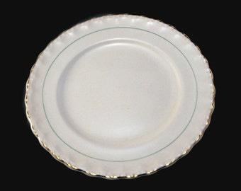Green Line Luncheon Plates from 1950s