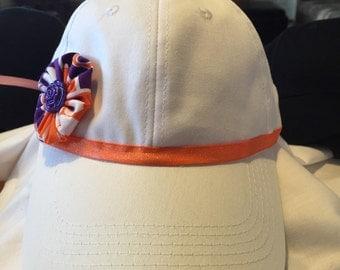 Clemson girls or women's baseball hat