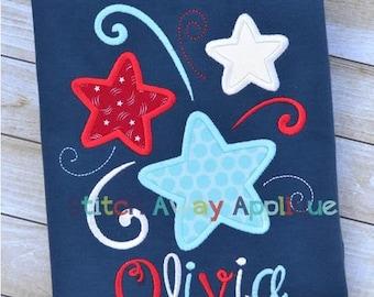Stars Patriotic Shirt- child