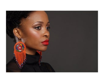 Zulu girl Earrings