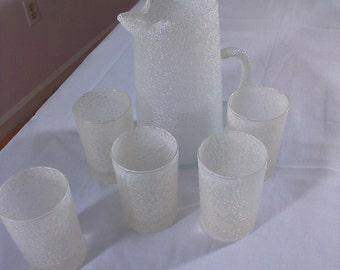 Vintage small juice set