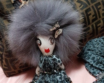 Wild LolaDora Doll Bag Charm