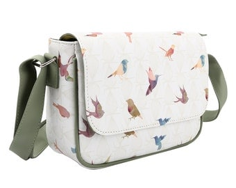 TaylorHe Cross Body Bag Handbag Beautiful Birds.