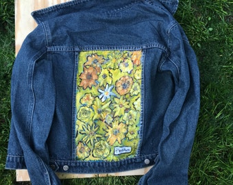 "Denim Jacket ""Stereotype"", Size: M"