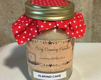 Almond Cake 16 oz candle