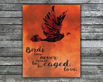 Caged Birds Wall Art