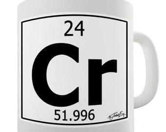 Periodic Table Of Elements Cr Chromium Ceramic Novelty Gift Mug