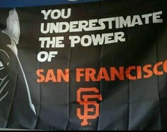San Francisco giants Dark Vader flag