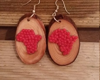 Handmade beaded earings