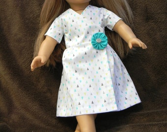 American Girl Doll Wrap Dress