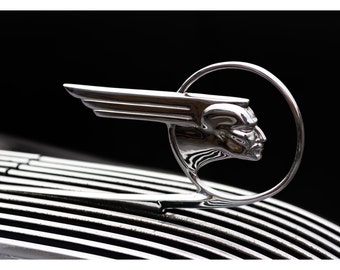 Chrome Indian Hood Ornament