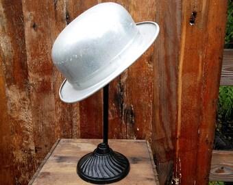 Rare 1900,1920s Vintage Bowler,Derby Hat Mold
