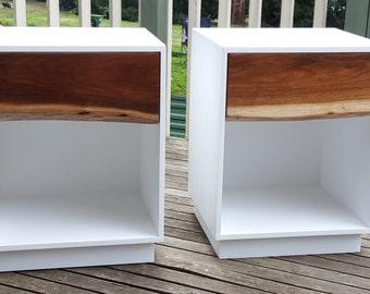 Custom Blackwood Endtables