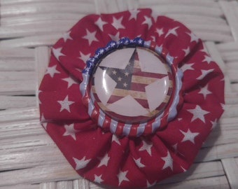 Fourth of July Hairbow