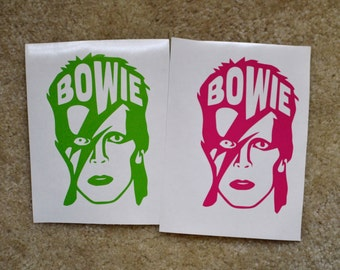 David Bowie Decal