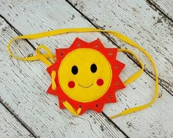 Summer Sale Sun Lacing Card