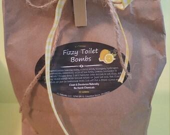 Toilet Fizzies Refill Bag of 30