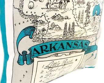 Arkansas Pillow Cover with Insert