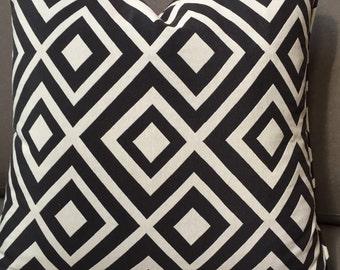 Pair of Decorative throw pillows, 19x19 throw pillow covers, Contemporary throw pillows, Pair of Toss pillows