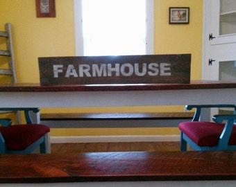 Farmhouse Pallet Wood Sign