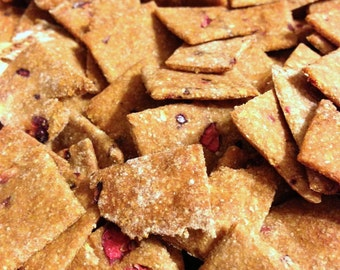 Large: Cranberry Gingerbread Dog Treats