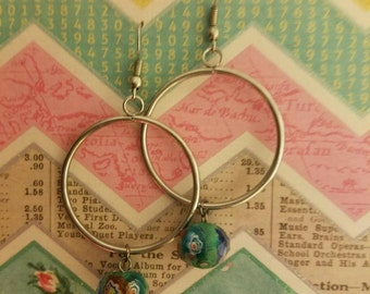 Beautiful Handcrafted Hoop Earrings!