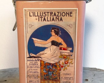 Italian Biscuit Tin