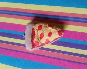 Pizza slice charm