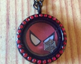 Spiderman! Fan Inspired Locket