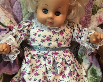 """Vintage Playmates Toys 17"""" baby doll 1986"""