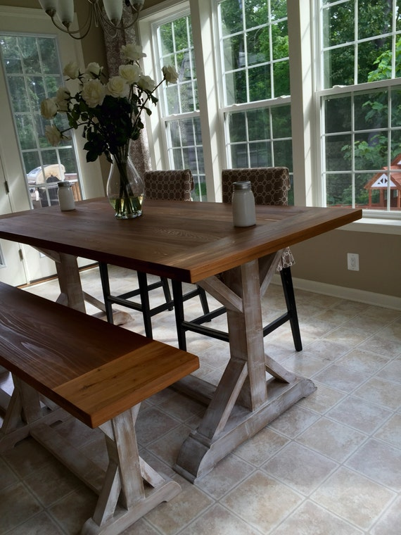 Counter Height Farm Table : Beautiful Cypress Counter Height