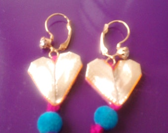 handmade gotta earrings