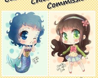 Custom Chibi Digital Commission
